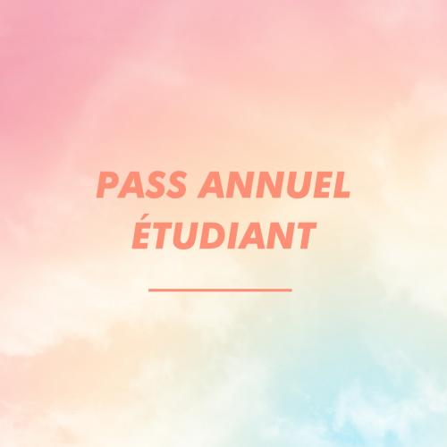 PASS ANNUEL ETUDIANT.E