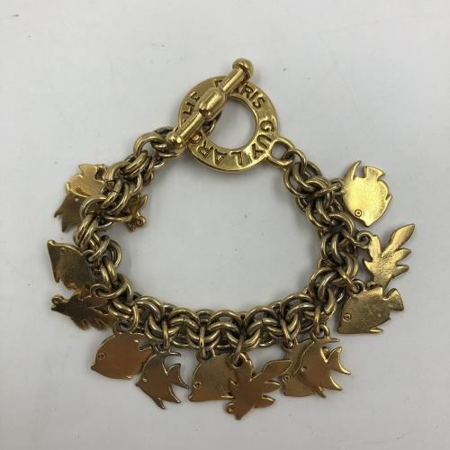 Bracelet en métal doré Guy Laroche