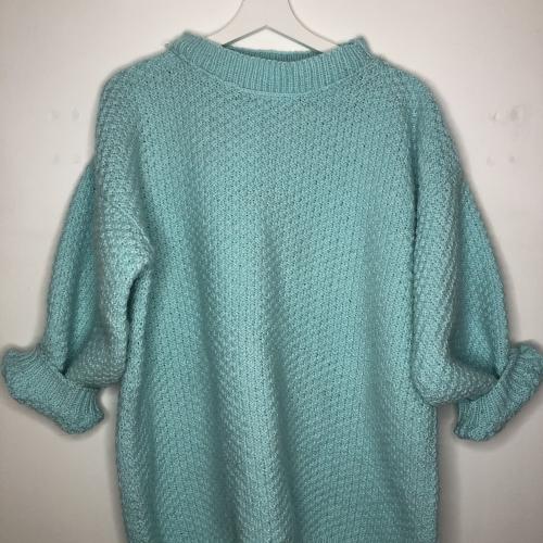 Pull coton et laine