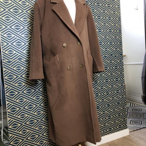 Manteau Burton laine et cachemire
