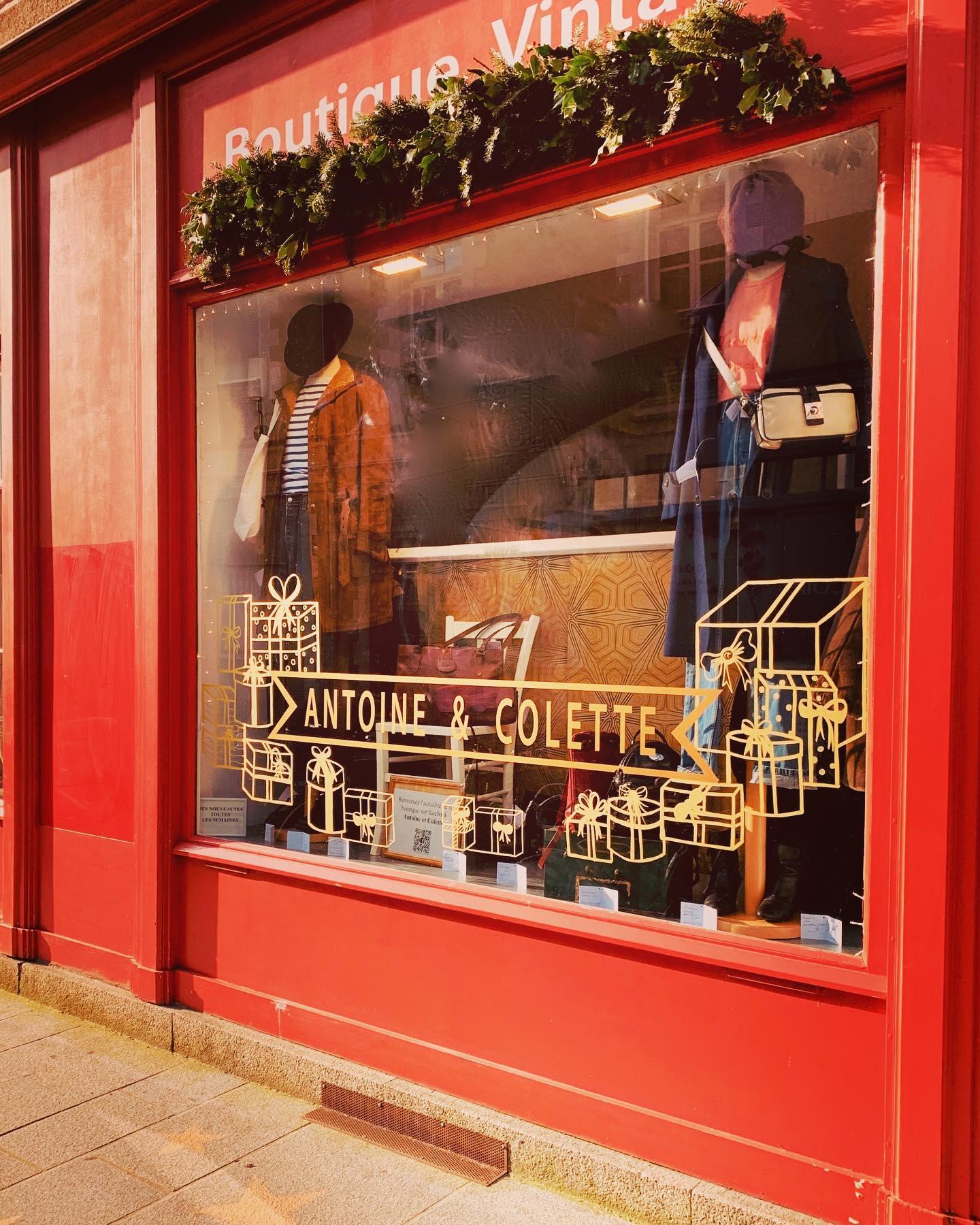 Antoine et Colette boutique vintage